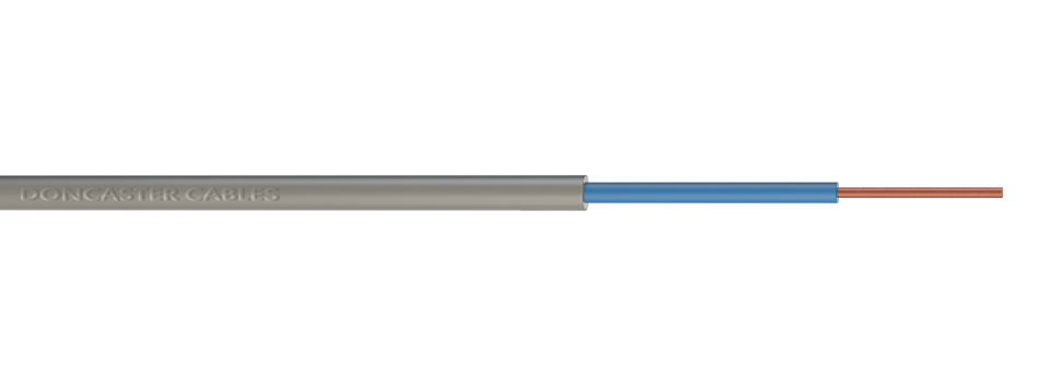 Single Core PVC Insulated, PVC Sheathed Cables