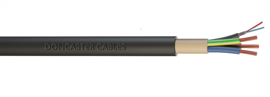 EV Ultra combined power and data cable