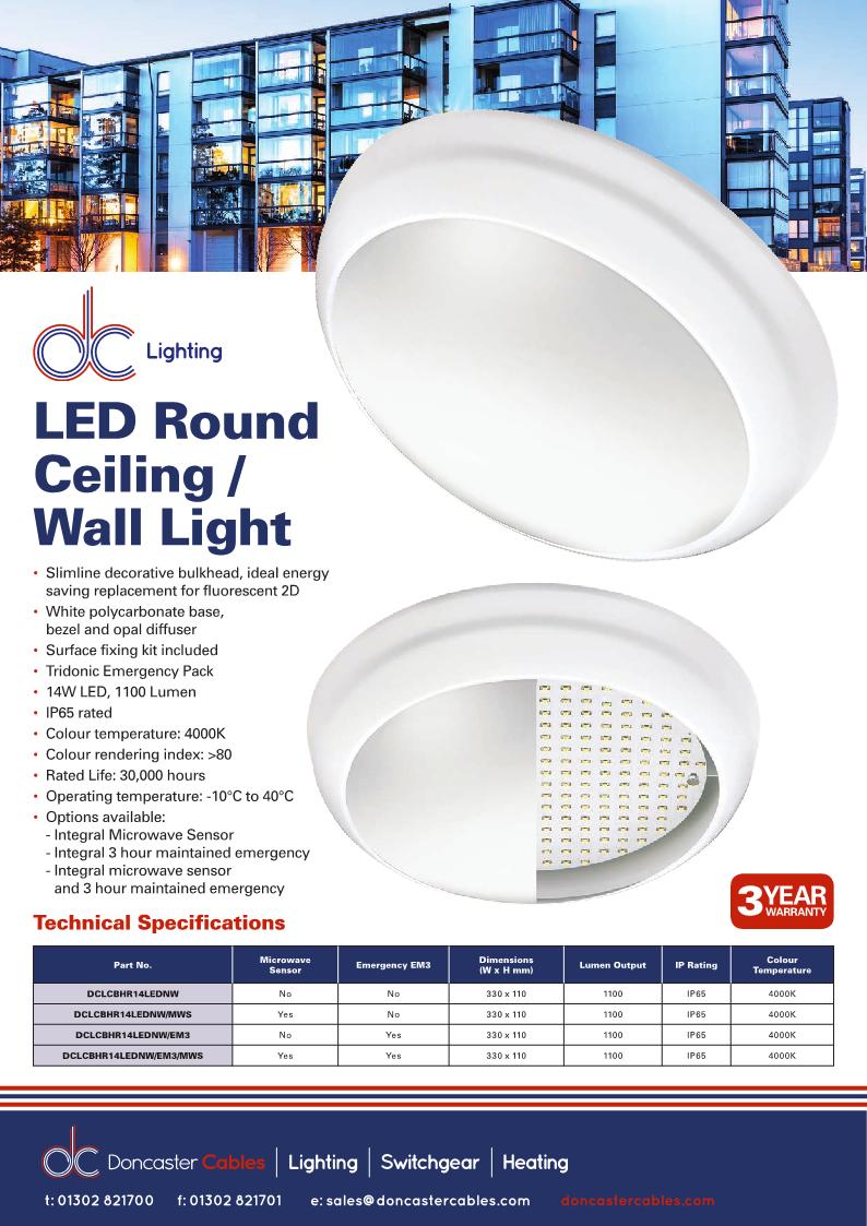 DC Lighting LED Bulkhead